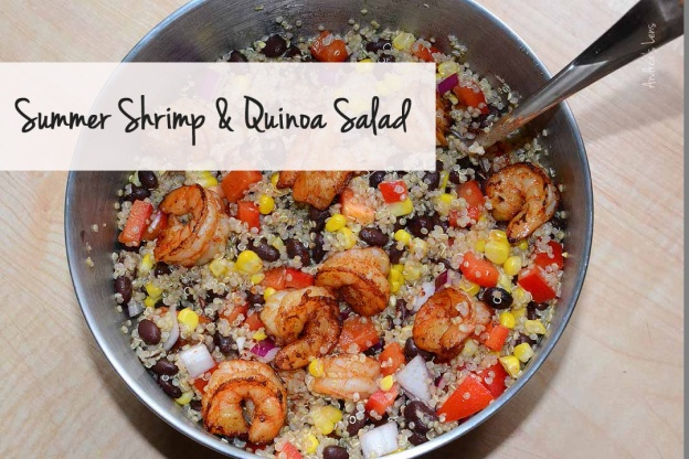 Summer Shrimp Quinoa Salad